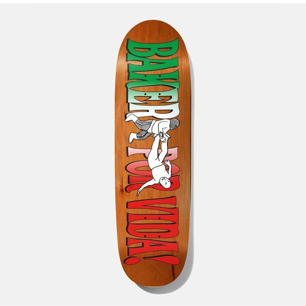 "Baker Skateboards Baker Por Vida Shaped 9.25"""