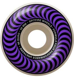 Spitfire Wheels Spitfire F4 99d Classic Purple 58mm