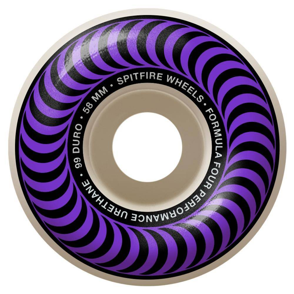 Spitfire Wheels Spitfire F4 99d Classic Purple 58mm