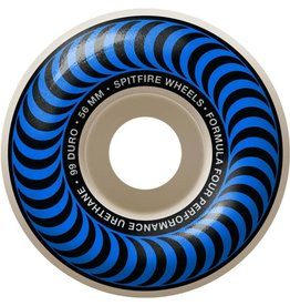 Spitfire Wheels Spitfire F4 99d Classic Blue 56mm