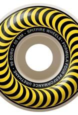 Spitfire Wheels Spitfire F4 99d Classic Yellow 55mm
