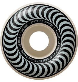 Spitfire Wheels Spitfire F4 99d Classic Silver 54mm