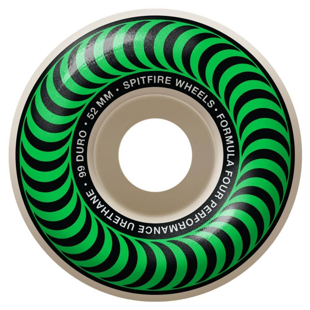 Spitfire Wheels Spitfire F4 99d Classic Green 52mm