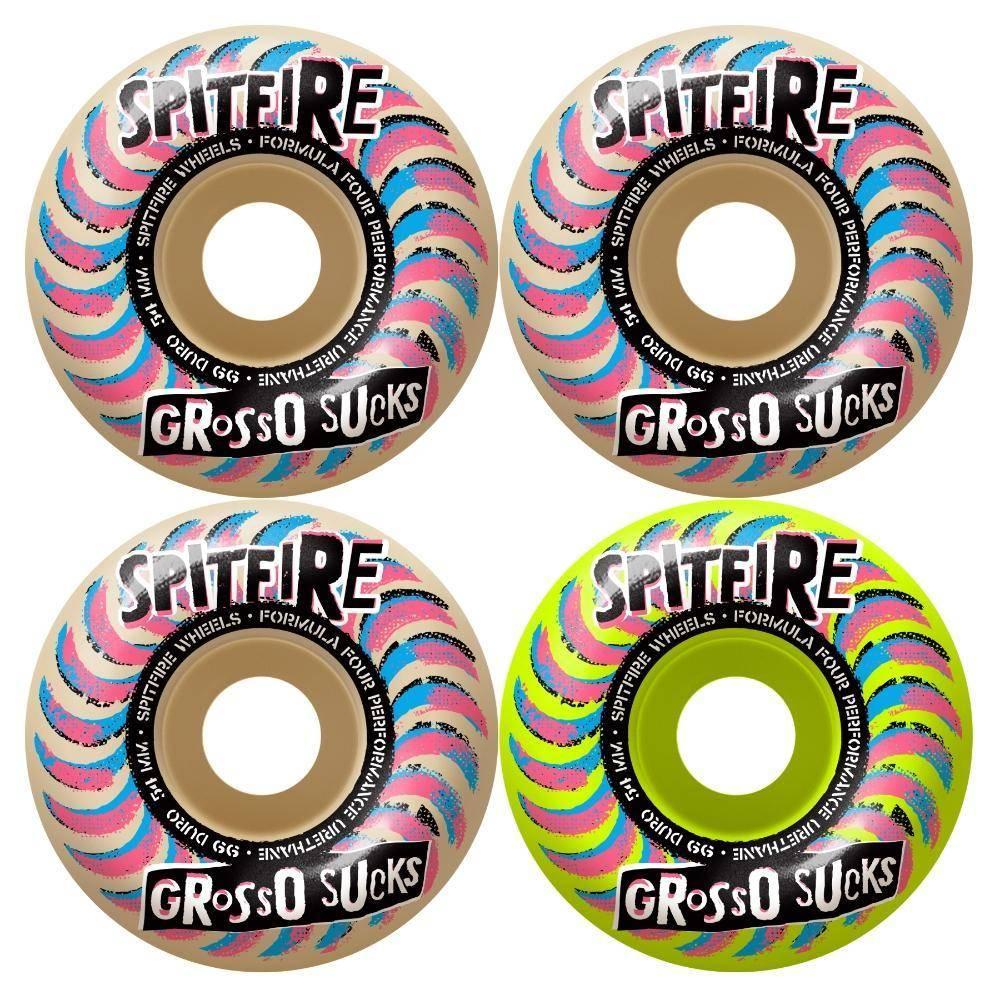 Spitfire Wheels Spitfire F4 99d Grosso Suck Mash