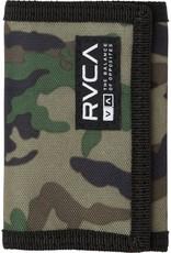 RVCA RVCA Print Trifold Wallet Camo