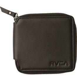 RVCA Zip Around Wallet Black