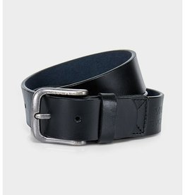 RVCA Truce Leather Belt Black S/M