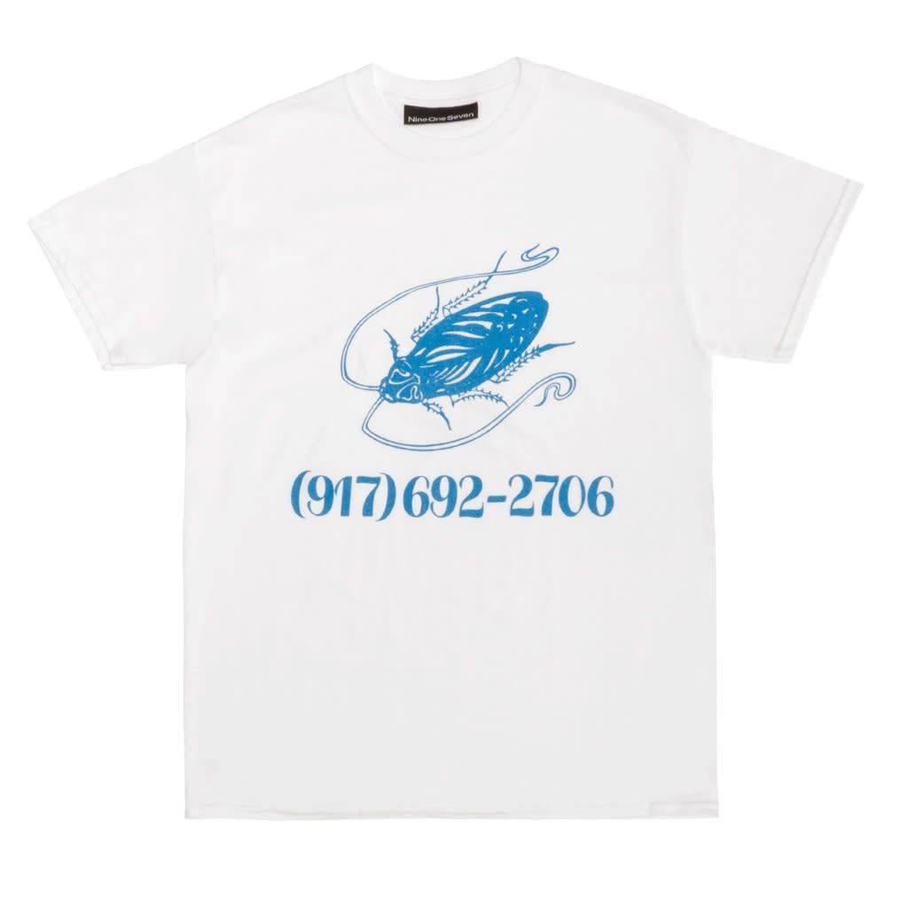 CallMe917 Pest Tee White