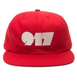 CallMe917 Typography Hat Red