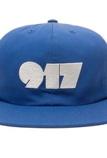 CallMe917 Typography Hat Blue