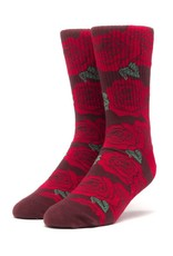 HUF Rosette Socks Red