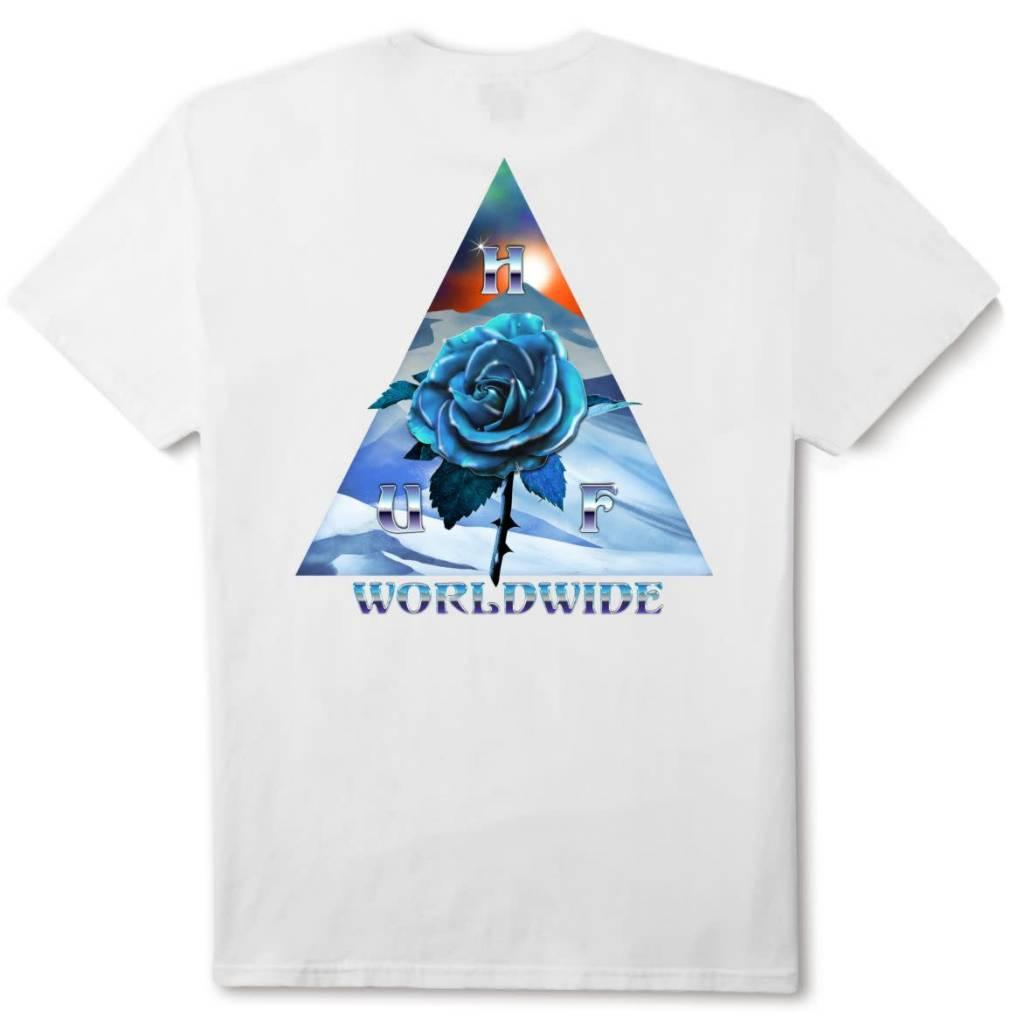 HUF Ice Rose Triangle White