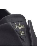 HUF Dylan Slip On Black Leather/ White
