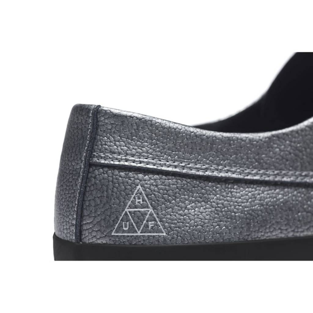 HUF Dylan Slip On Silver Metallic