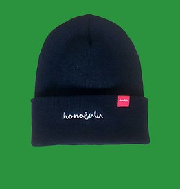 Chocolate Skateboards CTW Honolulu Chunk Beanie Black