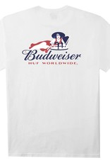 HUF Budweiser Heritage White