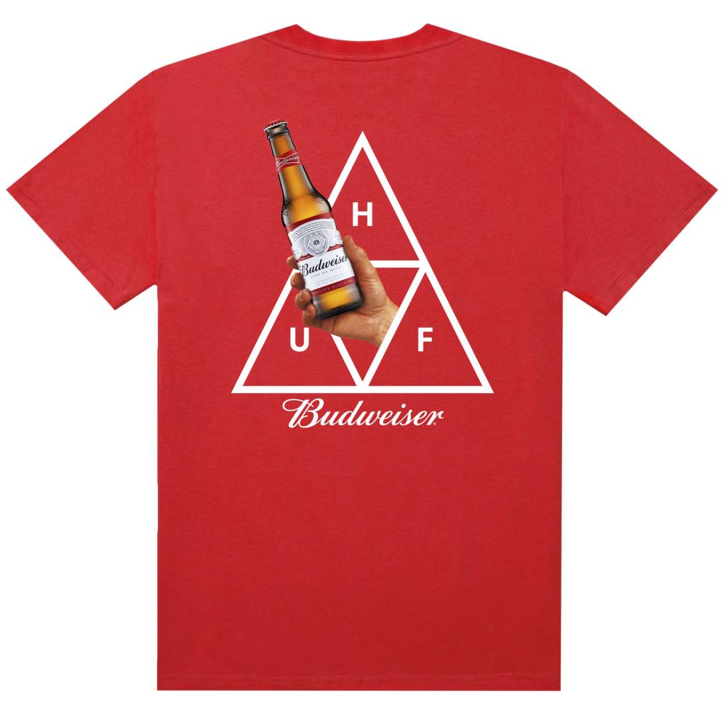 HUF Budweiser Cheers Red
