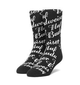 HUF HUF x Budweiser Crew Sock Black
