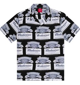 HUF Budweiser Label S/S Black