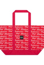 HUF Budweiser Tote Bag Red