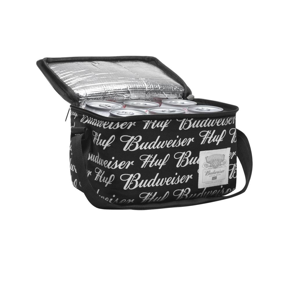 HUF Budweiser 6-Pack Cooler Black
