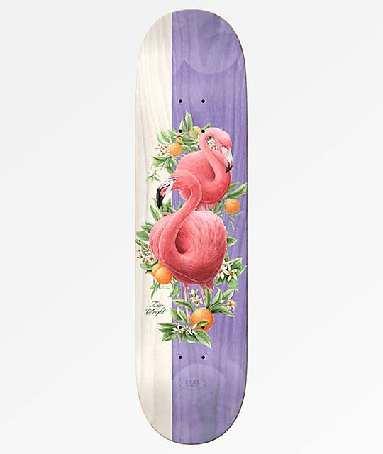 Real Skateboards Zion Natural Domain 8.25
