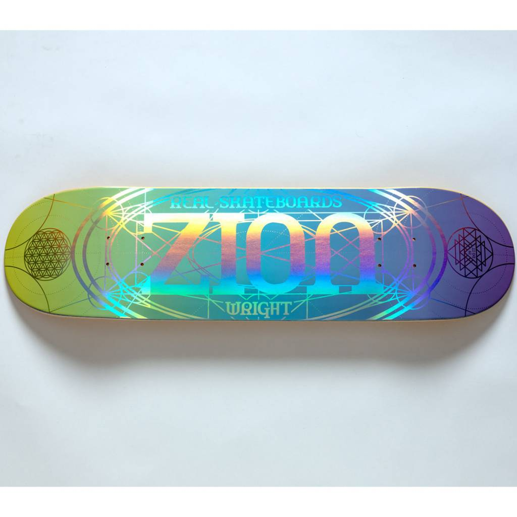 Real Skateboards Zion Oval Redux 8.25