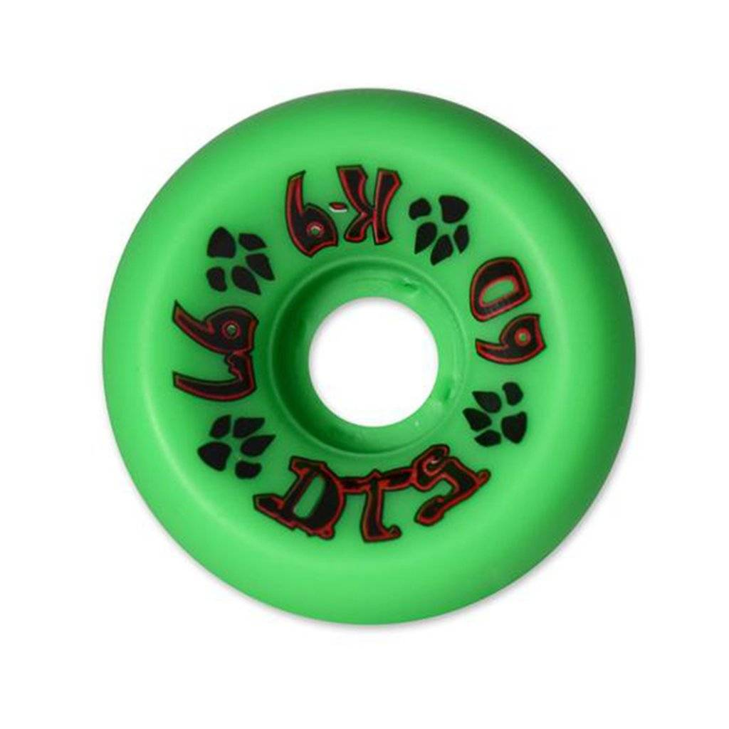 Dogtown K-9 Wheel Green 60mm