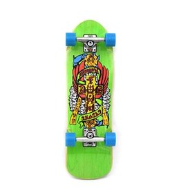 "Dogtown Eric Dressen Mini Complete 8.625"" Trans Green"