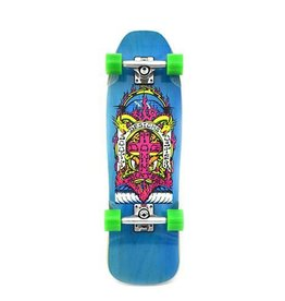 "Dogtown Scott Oster Mini Complete 8.75"" Trans Blue"