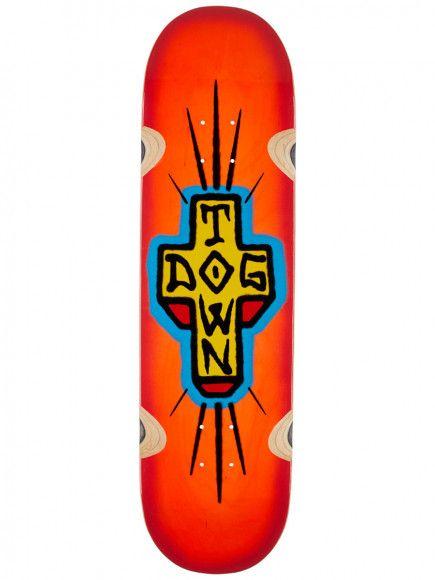 "Dogtown Spray Cross Loose Trucks 8.5"" Neon Orange"