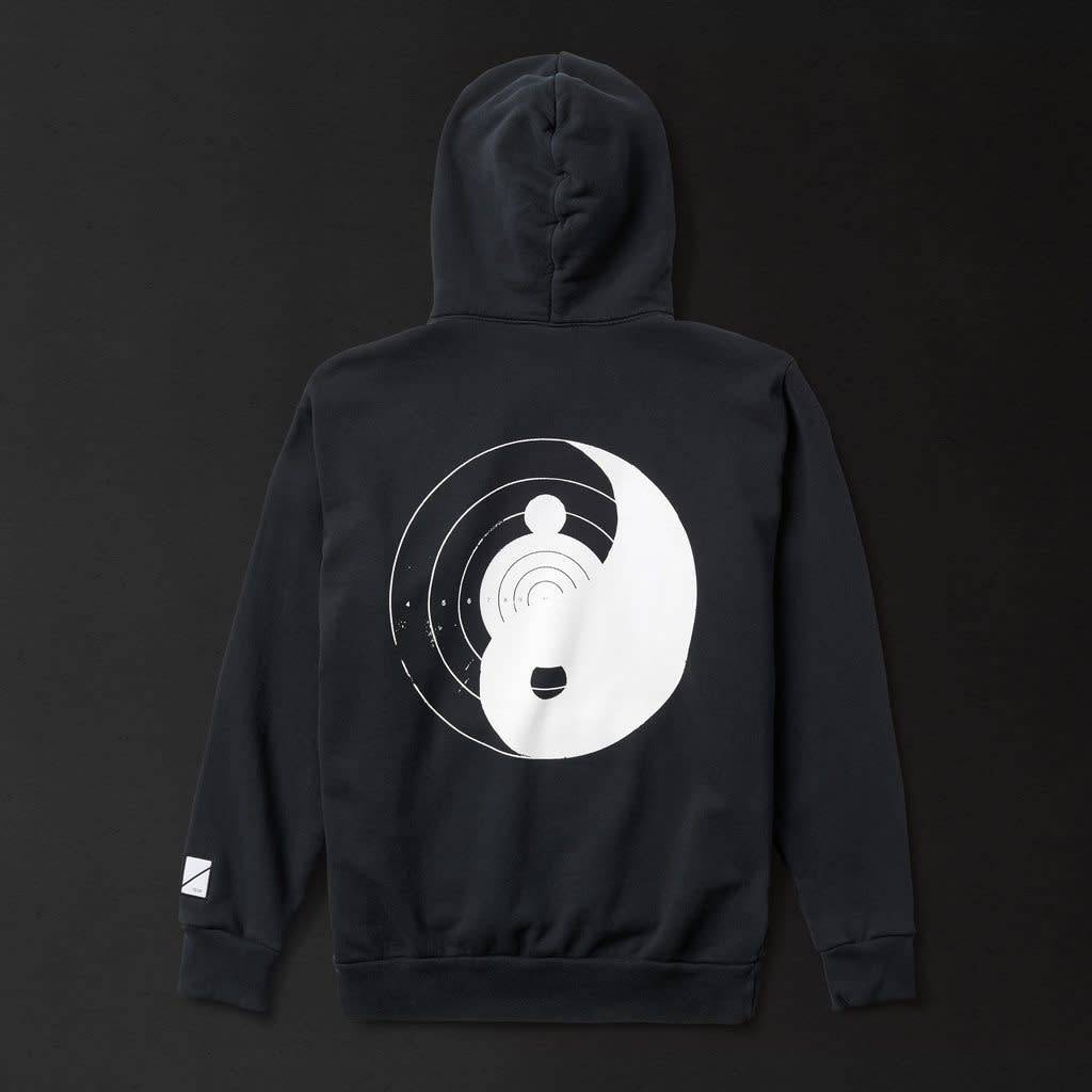 Numbers Edition Yin Yang - Fleece Hoodie/Black