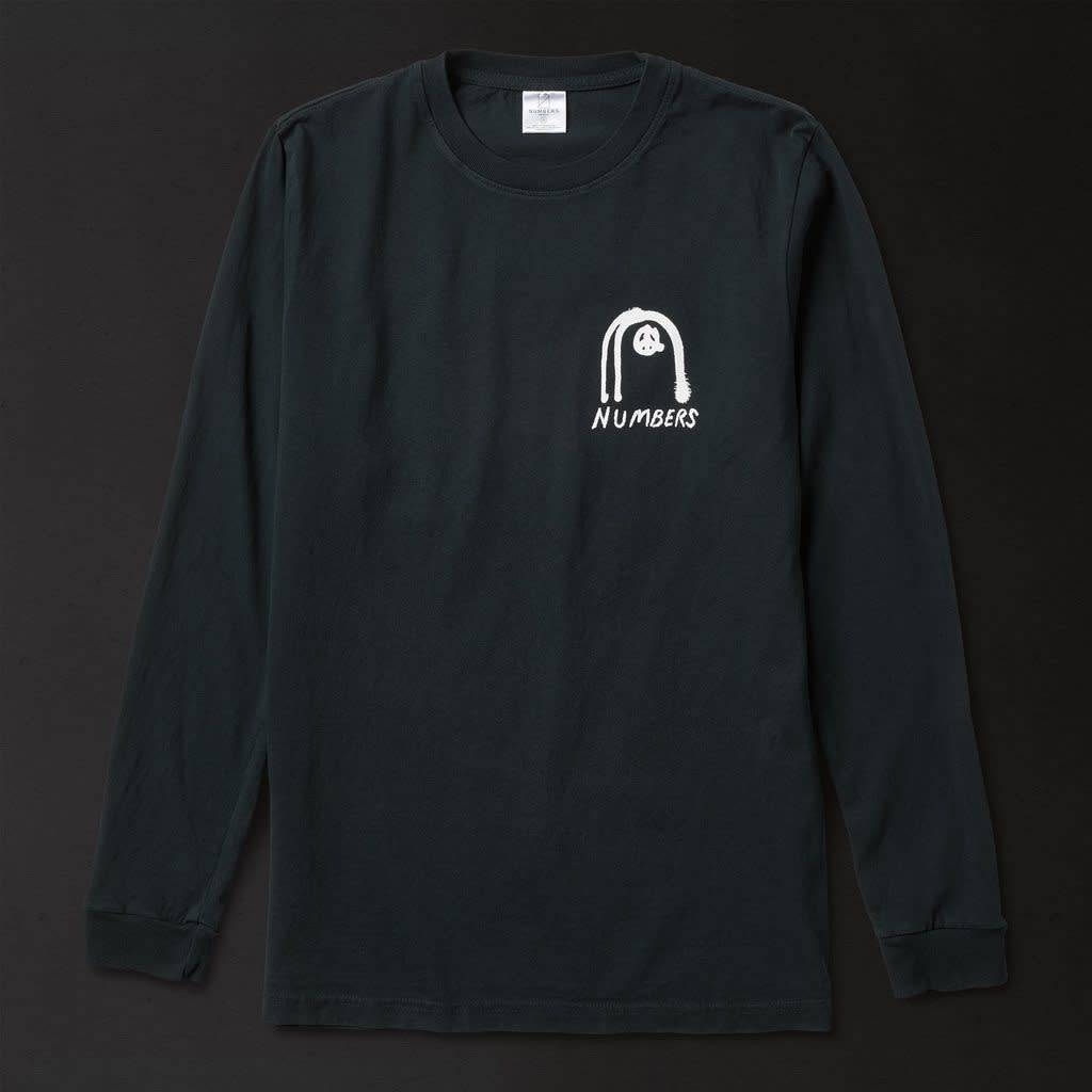 Numbers Edition Collage - L/S T-Shirt/Black