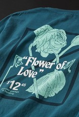 Numbers Edition Flower Of Love - L/S T-Shirt/Deep Teal