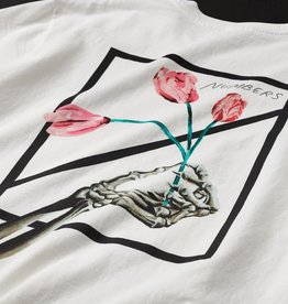 Numbers Edition Othelo Logotype - S/S T-Shirt/Off White