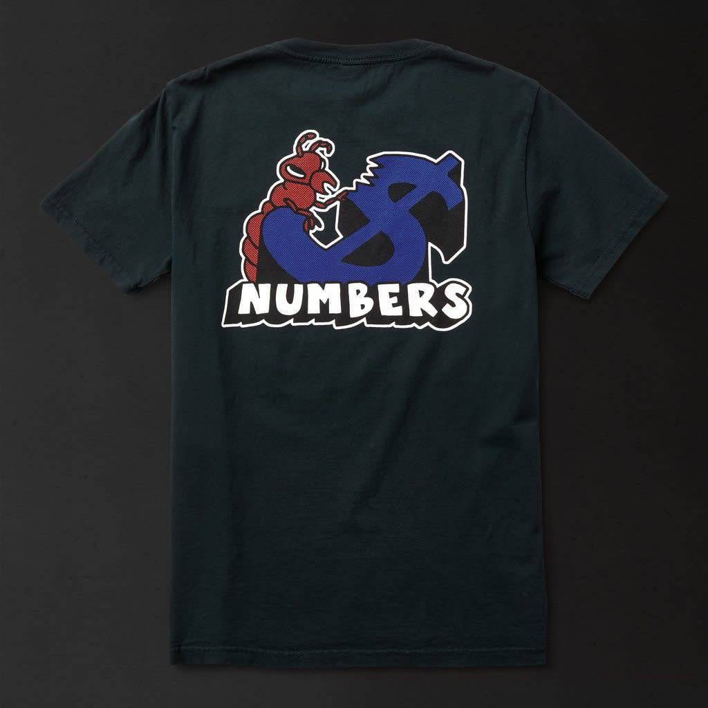 Numbers Edition Termite - S/S T-Shirt/Black Large