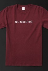 Numbers Edition Wordmark - S/S T-Shirt/Port