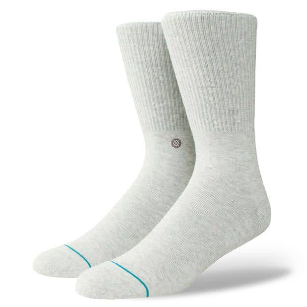 Stance Socks Fashion Icon Grey Large