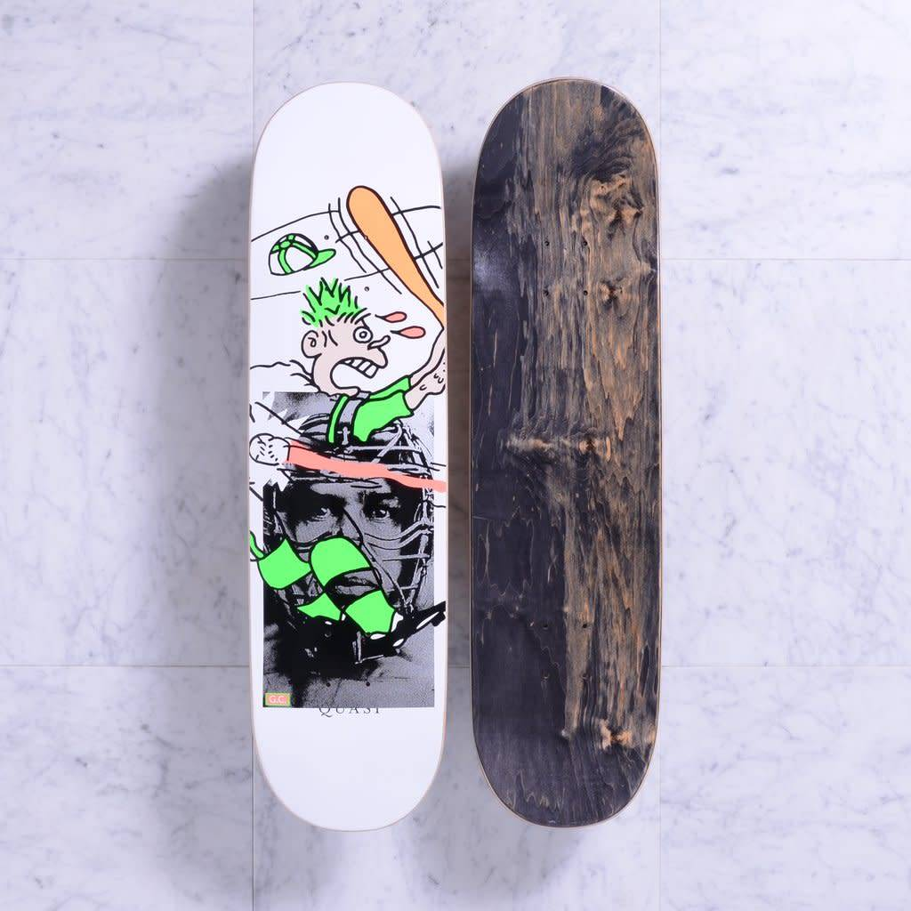 Quasi Skateboards Grand Slam (White) 8.125