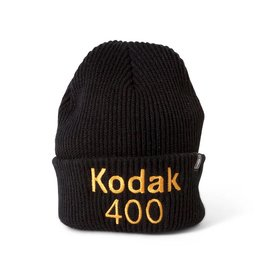Girl Skateboard Company Gold 400 Cuff Black Beanie