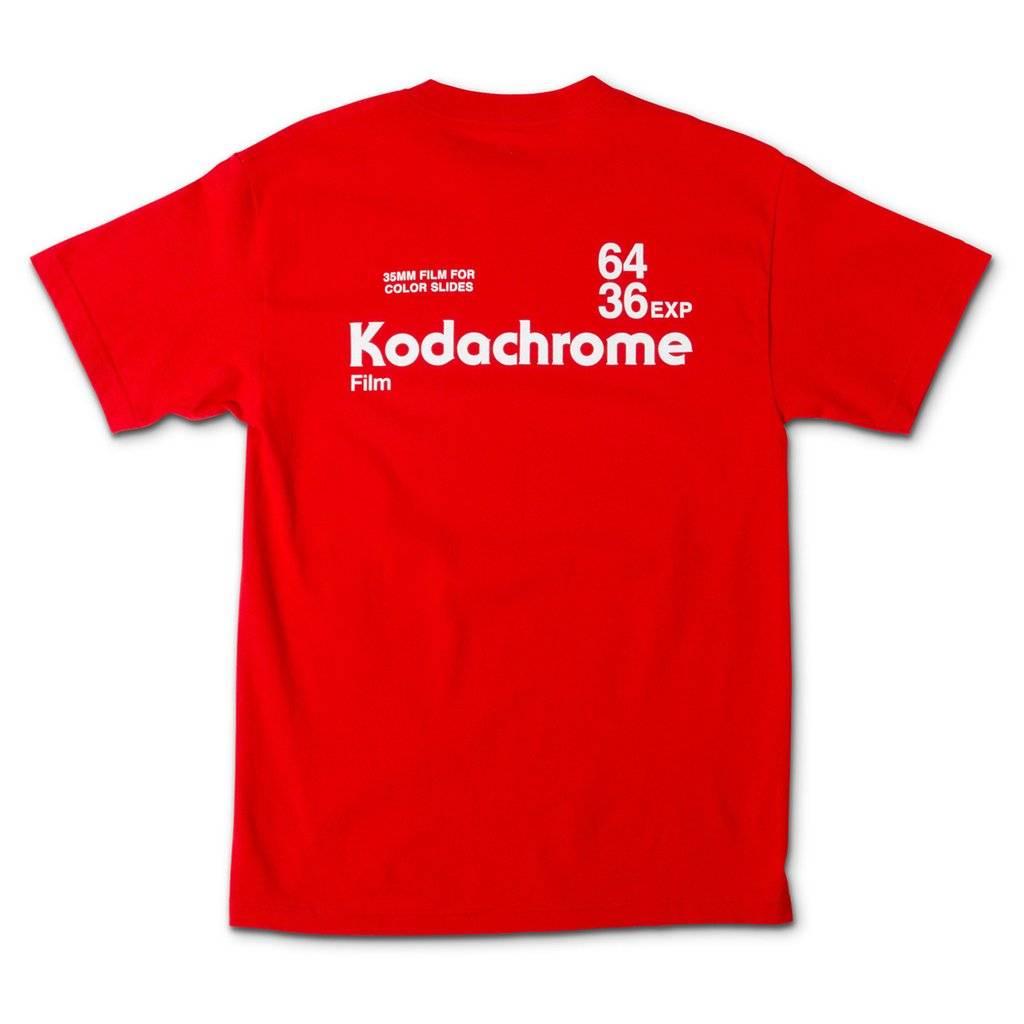 Girl Skateboard Company Kodachrome Red Tee
