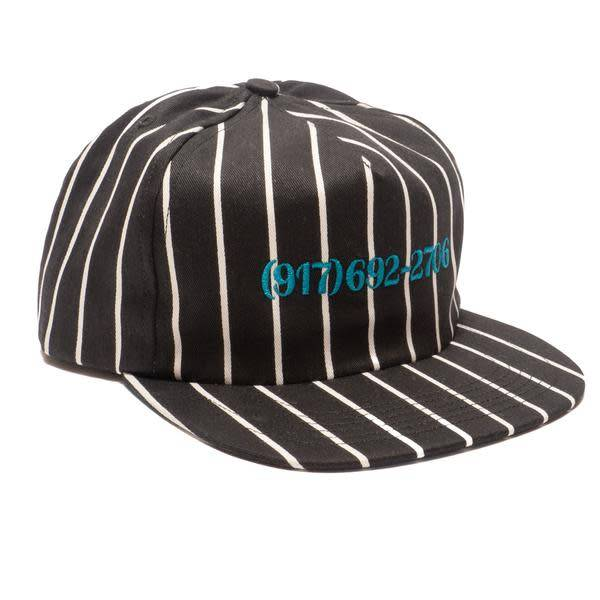 CallMe917 Dailtone Stripe Hat Black/Blue