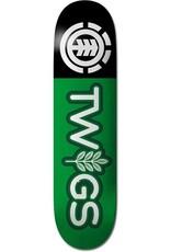 """Element Skateboards Twigs Logo 7.6"""""""