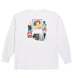 Polar Skate Co. Hypergamy L/S White