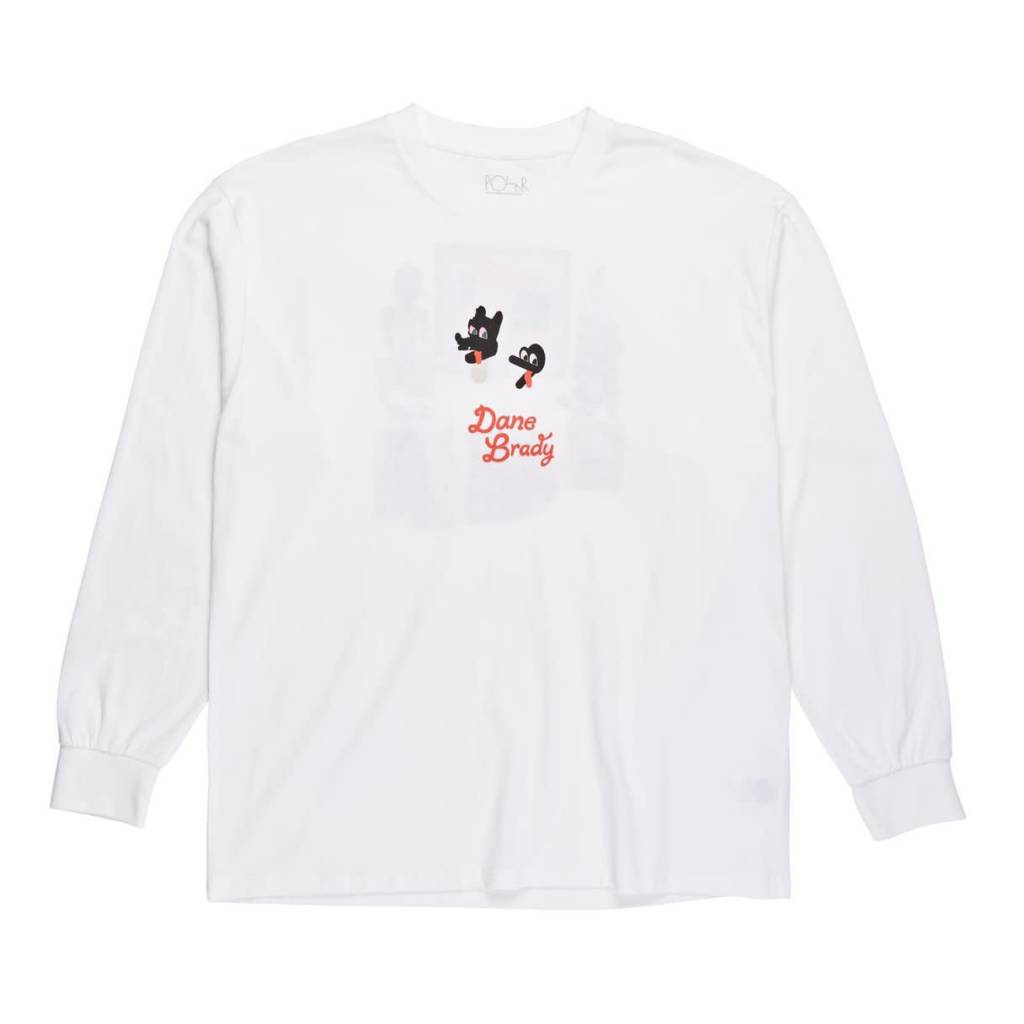 Polar Skate Co. Hypergamy L/S White
