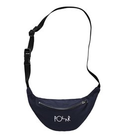 Polar Skate Co. Script Logo Hip Bag Navy