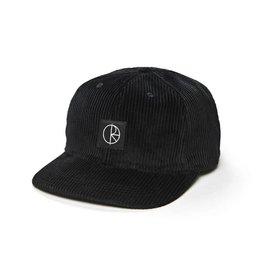 Polar Skate Co. Corduroy Cap Black