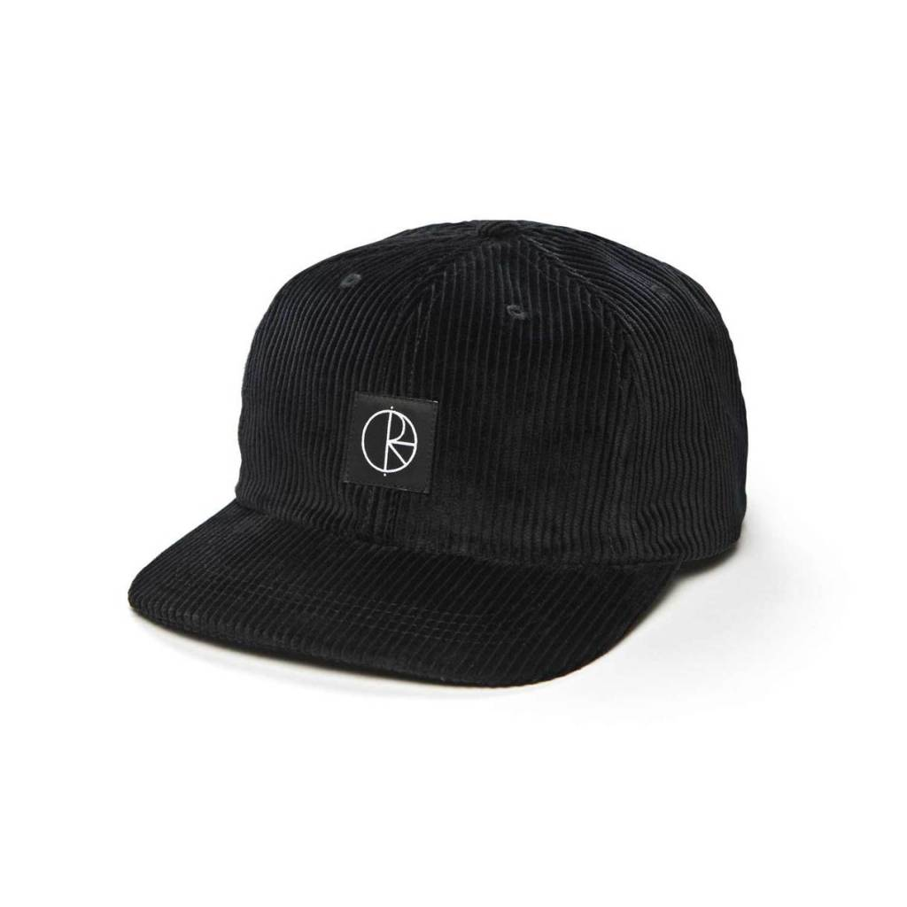 Polar Skate Co. Corduroy Cap Black