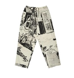 Polar Skate Co. TK Surf Pants Ecru/Black