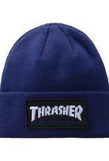 Thrasher Mag. Logo Patch Beanie Navy
